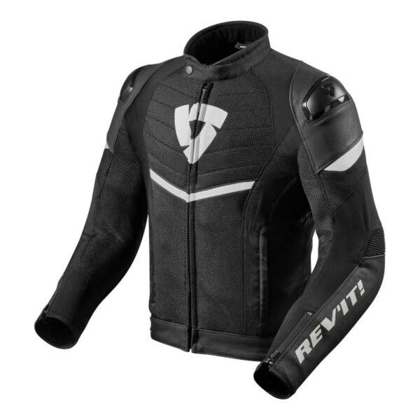 Motorcykel læderjakke REVIT Mantis