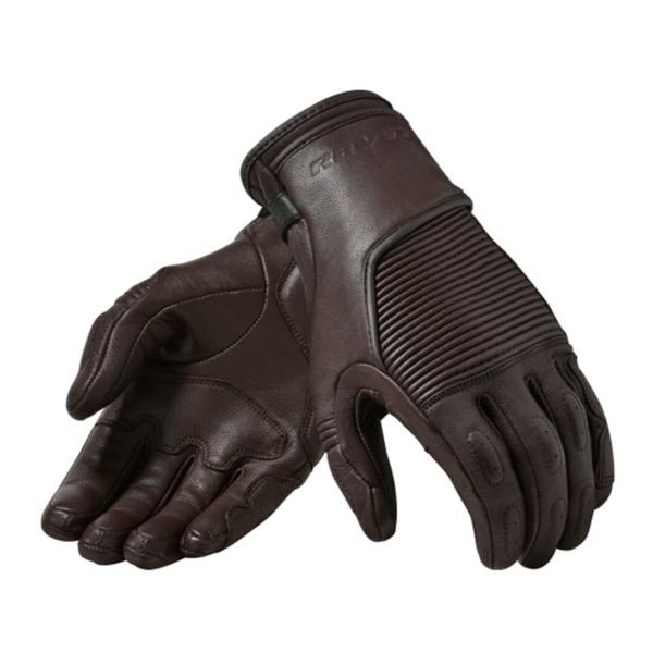 motorcykel handsker bastille brun