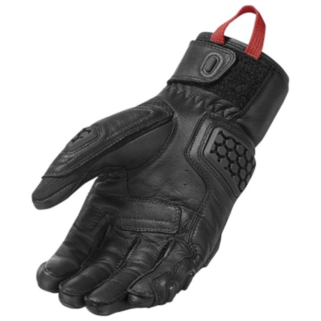 motorcykel handsker revit sand 3
