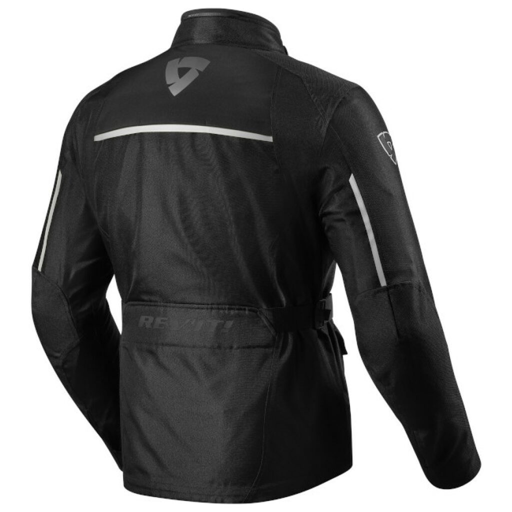 motorcykel jakke revit voltiac 2 sølv