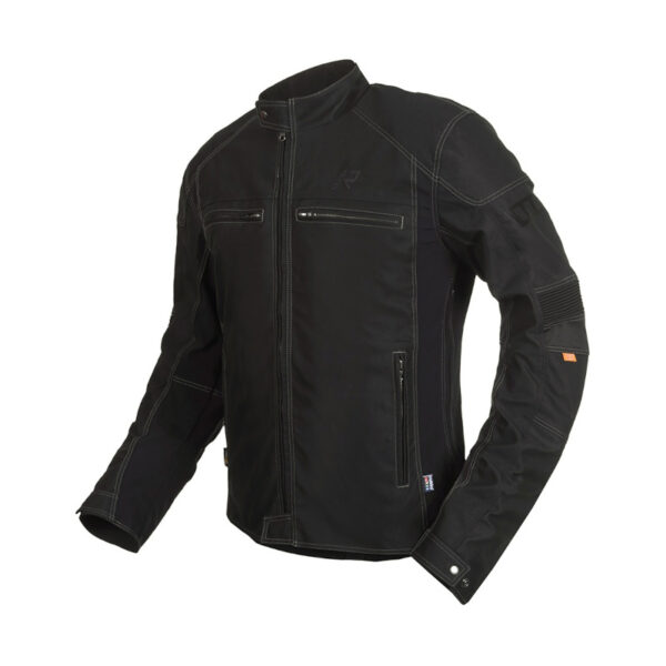 motorcykel jakke rukka raymore sort