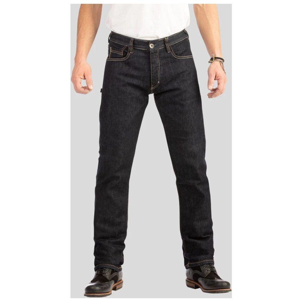 motorcykel bukser jeans rokker selvage raw