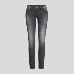 motorcykel jeans rokker the donna black
