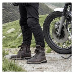 motorcykel sko stylemartin ace brun