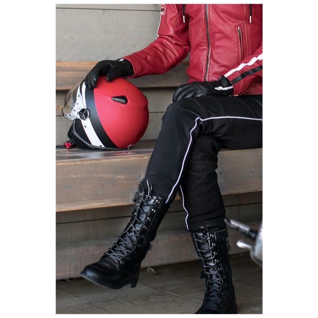 motorcykelstøvler difi virginia