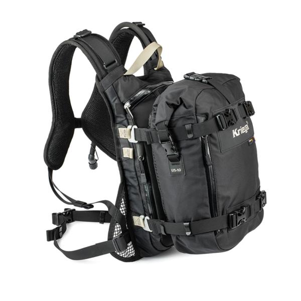 motorcykel rygsæk kriega drypack 10L