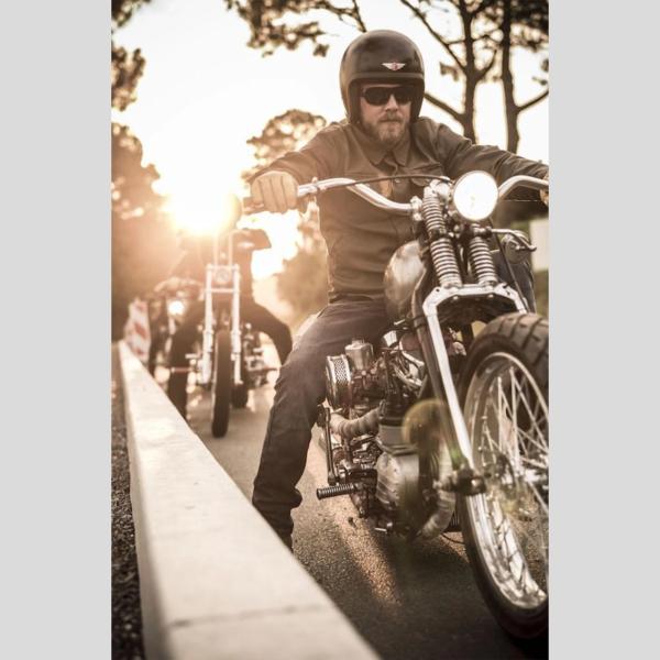 motorcykel bukser jeans rokker