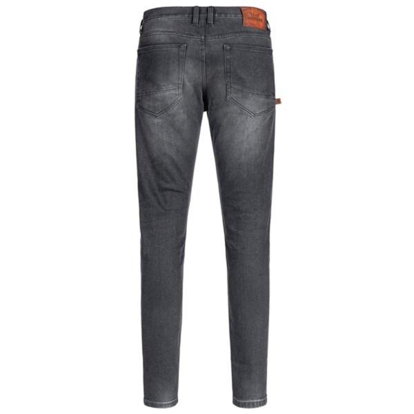 motorcykel bukser jeans rokker uper slim sort
