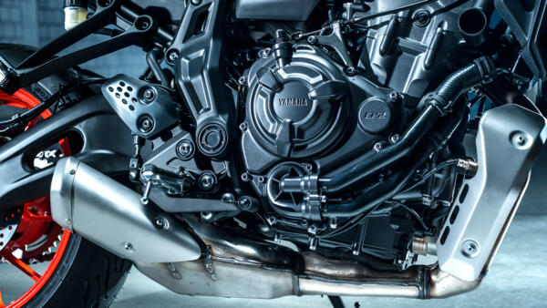 Yamaha MC MT-07 2021 EU5 CP2 motor