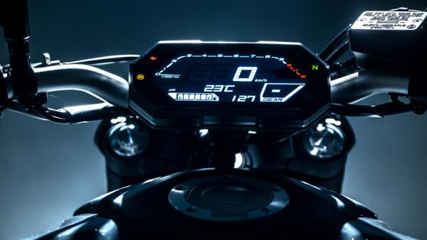 Yamaha MC MT-07 2021 LCD instrument