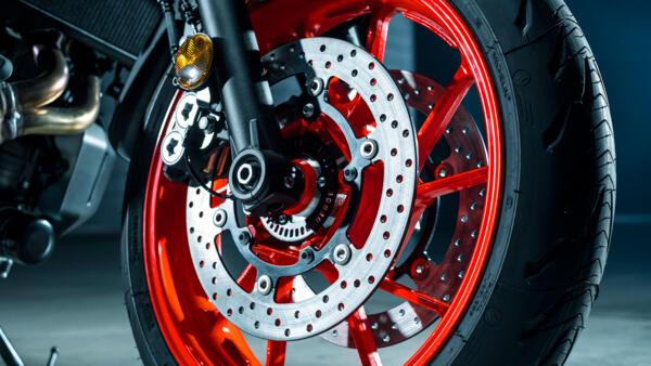 Yamaha MC MT-07 2021 større bremseskiver
