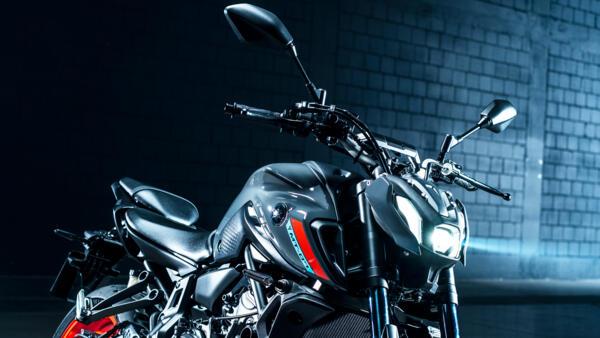 Yamaha MC MT-07 2021 bredt styr