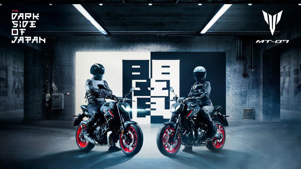 motorcykel yamaha mt07 2021