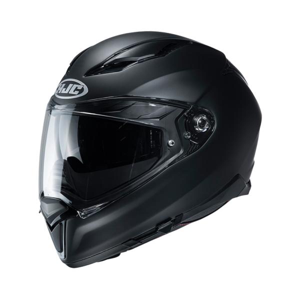 motorcykelhjelm hjc f70 matsort