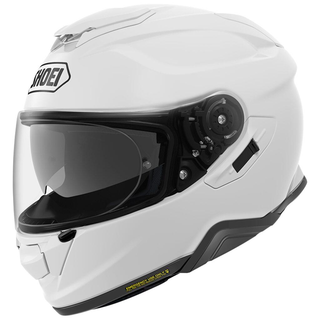 MOTORCYKEL HJELM SHOEI GT AIR 2 BLANK HVID