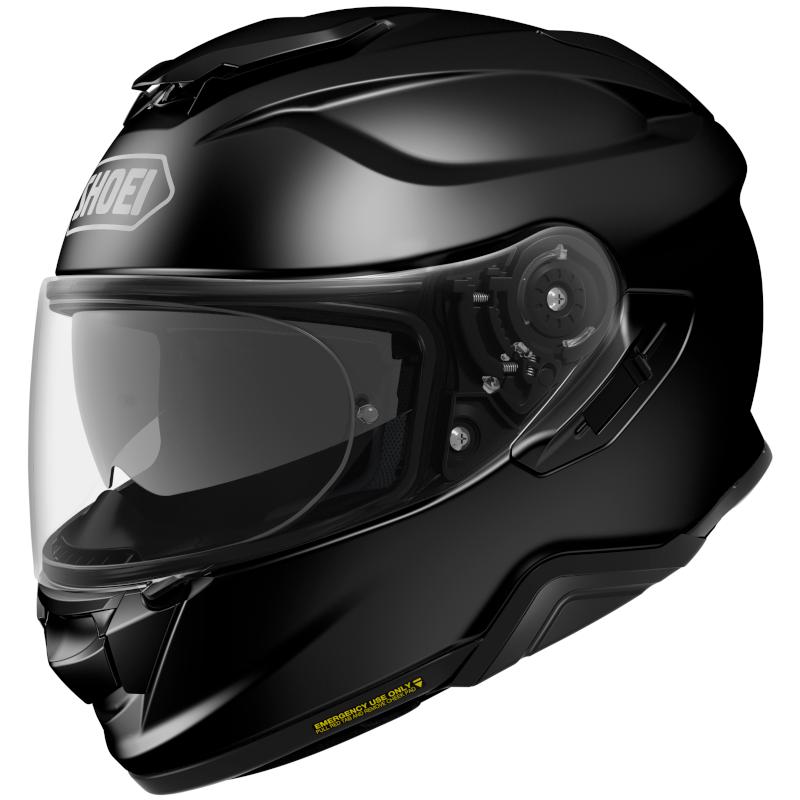 MOTORCYKEL HJELM SHOEI GT-AIR 2 BLANK SORT