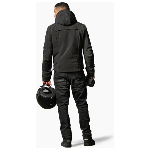 motorcykel jakke revit afterburn black