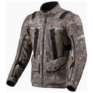 motorcykel jakke revit sand 4 camo brown