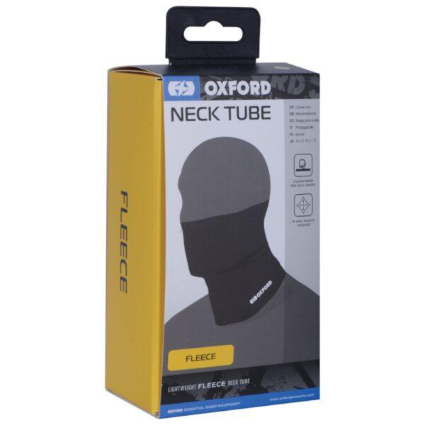 oxford neck tube fleece