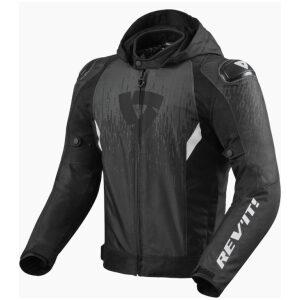 motorcykel jakke revit quantum 2 h2o black anthracite