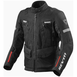 motorcykel jakke revit sand 4 black