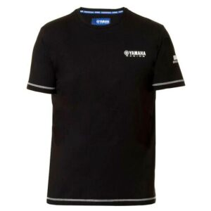 YAMAHA T-SHIRT PADDOCK BLUE BLACK
