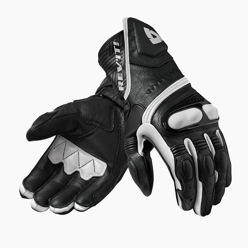 motorcykel handsker revit metis hvid