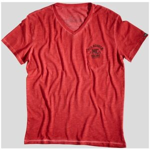 rokker mc t-shirt rød